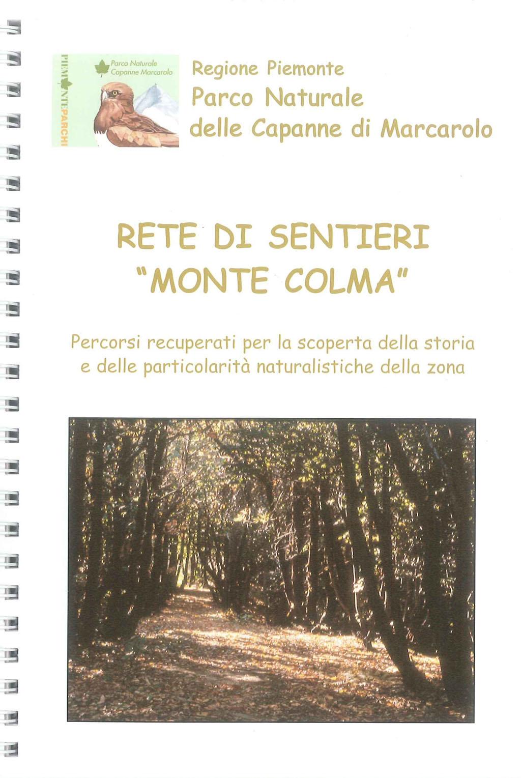 Guida sentieri Monte Colma
