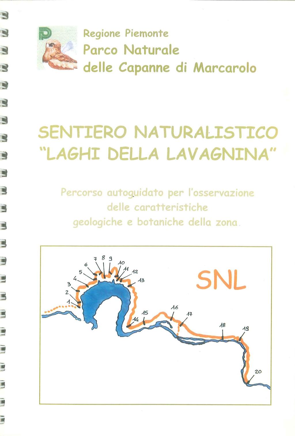 Guida al Sentiero Naturalistico Laghi Lavagnina
