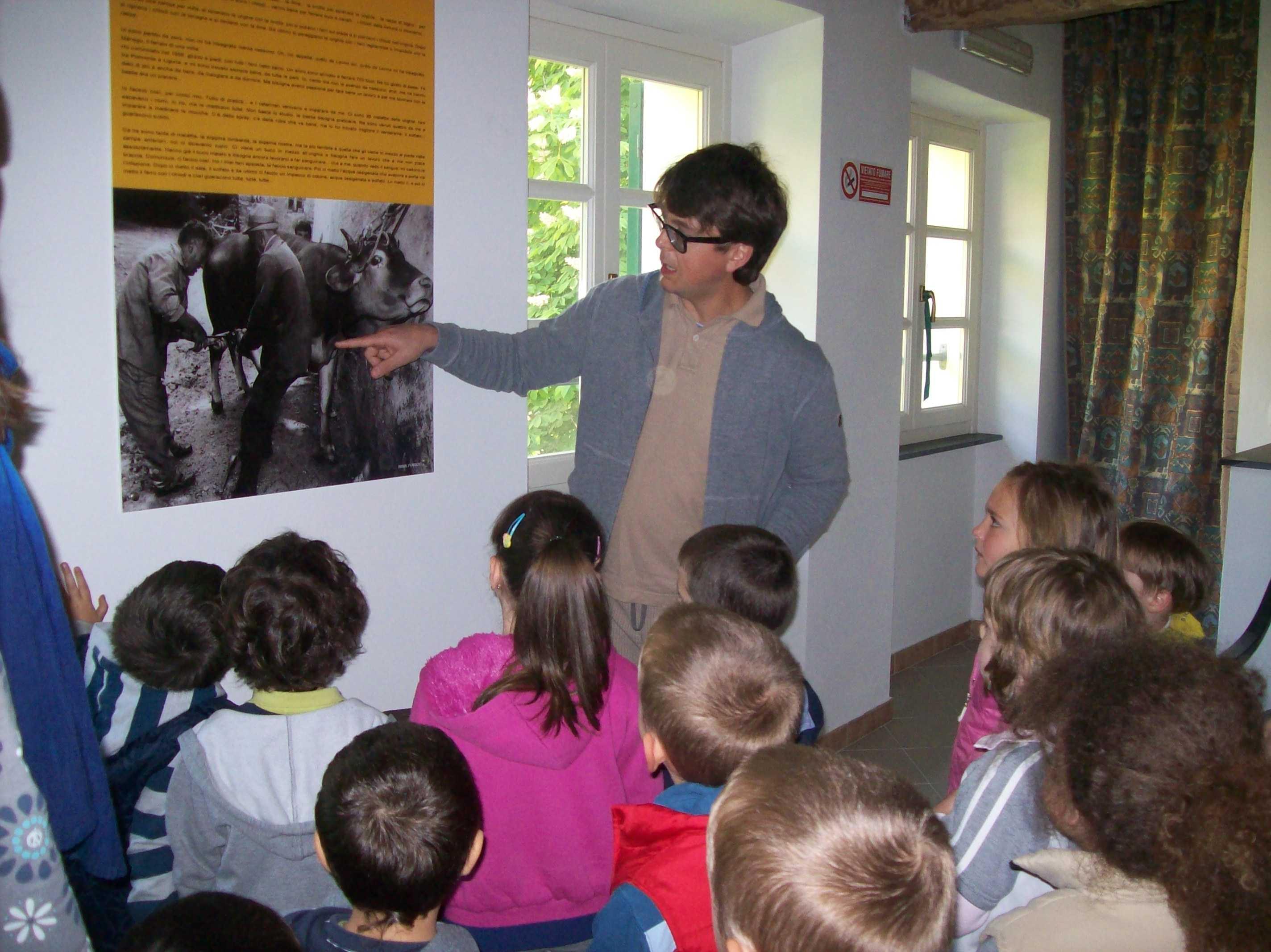 attività didattiche a Palazzo Gazzolo